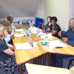 Lesedi Board Meeting at Lesedi office